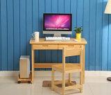 صلبة [بيش ووود] طاولة حديثة [ستثدي رووم] نمو مكتب ([م-إكس2041])