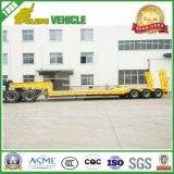 El transporte del Tri-Árbol 60t trabaja a máquina el acoplado inferior del carro de la base