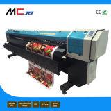 van 3.2m van het Grote Formaat de Oplosbare Digitale Inkjet Printer van Eco met Epson Dx10 voor Banner