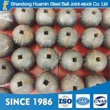 高炭素の柵鉱山およびボールミルのための鋼鉄によって造られる粉砕媒体の鋼球