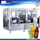 りんごジュースのための熱い注入口機械