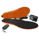 男女兼用の無線電気暖かい熱くする靴の中敷の離れた制御