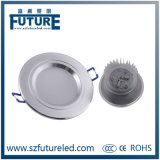 Accesorio ahuecado LED de Downlight del surtidor de China de 3W-15W