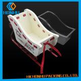 La perle de coton de cadre la meilleur marché d'empaquetage en plastique de Placer-Dessus