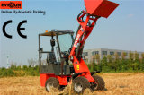 Pallet ForksのセリウムApproved Mini Front端Loader Er06