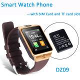 Del precio razonable del reloj de Bluetooth del teléfono inteligente con cámara de 2,0 m (DZ09)