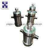 Tipo cilindro hidráulico de Hyva para o reboque da descarga