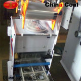 Semi-Auto máquina plástica manual da selagem do copo do suco