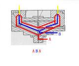 HDPE-/LDPE-doppelte Hauptplastikfilm-durchbrennenmaschine Chsj--2A 55/60/65