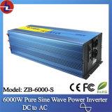 Zonne Inverter 6000W 48V gelijkstroom aan 110V/220V AC Pure Sine Wave Power Inverter