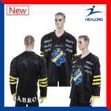 Concevoir vos propres chemises du Jersey de hockey sur glace de la jeunesse d'équipe