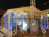 [10إكس15م] فاخر زجاجيّة فسطاط معرض خيمة خارجيّة يعزل مقصورة