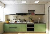 Prag-moderner stilvoller Plastikheben Belüftung-Küche-Schrank (CA20-12)