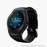 十分にのあたりで磁石のCharginfポート(KS2)が付いているスクリーンのスマートな腕時計