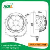 10-80V 9PCS * 백색 반점 또는 플러드 (NSL-4509R-45W)를 일해 5W 크리 말 45W LED