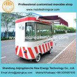 Mini véhicule de restaurant de restauration d'aliments de préparation rapide de ventes chaudes avec le matériel facultatif