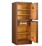 Коробка сейфа Jewelry&Office фингерпринта двойной двери стальная