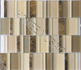 Tuiles de mosaïque en verre de pierre de mélange (YS07)