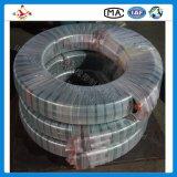 Manguito de goma hidráulico del espiral del alambre de la alta calidad de En856 4sh