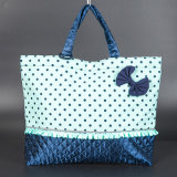 2015 Fashion Style Foldable Impression pleine couleur Sac réutilisable Shopping Printed Eco Bags Conférence Custom Print Cotton