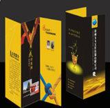 Qualitäts-glatten Kunstdruckpapier Werbung A4 Flyer Promo-Blatt