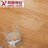 suelo laminado de madera verdadero de la superficie de la textura de 8m m (U - surco) (AS2607)