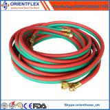 Tubo flessibile gemellare della saldatura/tubo flessibile gemellare dell'ossigeno/tubo flessibile dell'acetilene