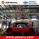 Polvere Coating Production Line per Automobile Parte
