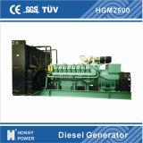 generatore del diesel della centrale elettrica 2000kw/2500kVA