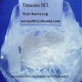 Clorhidrato del Tetracaine de la pureza elevada del 99%/ácido clorhídrico del Tetracaine (136-47-0) para el anestésico local