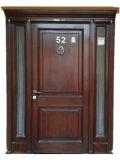別荘または木Dool/固体木のドアのための入口のカシの固体木のドア