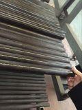Forno de túnel longo contínuo do transporte do gás dos bolinhos do aço inoxidável com comprimento do pedido (fabricante CE&ISO)