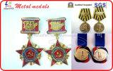 Distintivi militari russi della parte posteriore della vite