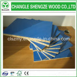 Pente 17mm de meubles panneau bleu de particules de mélamine de les deux côtés/Flakeboard