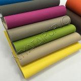 Cuir gravé en relief de PVC pour l'usage de couverture de portée de sofa/véhicule avec le prix concurrentiel