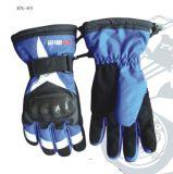Горячие перчатки катания на лыжах зимы сбывания