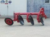 Machine agricole de charrue à disques de pipe pour les pays sud-africains