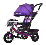 4 in 1 Dreirad, Baby-Spaziergänger, Baby-Dreirad, scherzt Tricyle, Kind-Fahrrad