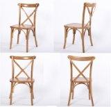 Cadeira de madeira da parte traseira da cruz do estilo francês da alta qualidade para o evento