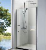 """Cerco deslizante simples de vidro desobstruído do chuveiro da cabine do banheiro com 55~71 """" larguras"""