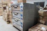 Машина печи выпечки хлеба хлебопекарни 3 подносов палубы 9 электрическая (HEO-30-3)