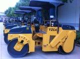 Junma 4000 Kg 유압 진동 진동 도로 롤러 도로 쓰레기 압축 분쇄기 (YZC4)