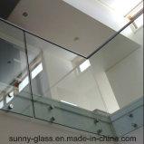 Vidro temperado quadrado e redondo / vidro temperado