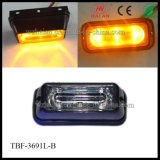 Diodo emissor de luz Strobe Lights do poder superior Liner3 Amber para Cars