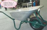 Wheelbarrow galvanizado quente da bandeja da boa qualidade do Sell () Wb6414t)