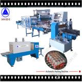 Machine à emballer large de rétrécissement de bouteilles de Multi-Rangée de film