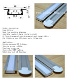 20mm LED Strip를 위한 높은 Quality v Shape Aluminum LED Profile