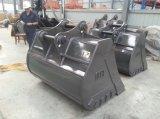 Cubeta de lama rochosa da limpeza de Ze210 1400mm para as peças da máquina escavadora de Zoomlion