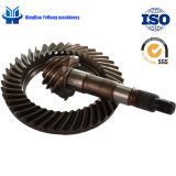BS0090小型トラックギヤ自動車軸車の部品ギヤ後部駆動機構車軸はカスタマイズされた螺線形の斜めギヤ9/41である場合もある