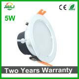 Buena calidad 5W LED ahuecado SMD5730 Downlight